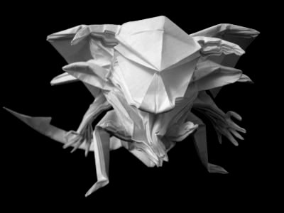 Hugo Pereiras Paintings Origami Software
